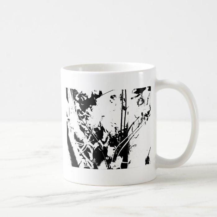 Leaves in Pen and Ink Coffee Mug