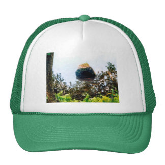 Leaves, Lake, and Logs Hat