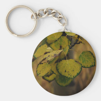 Leaves Letting Go Keychains