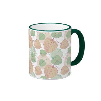 leaves mugs