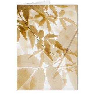 Leaves - MW1400 Card