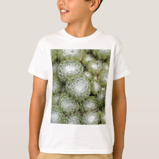 Leaves of a cobweb house leek, Sempervivum arachno T-Shirt