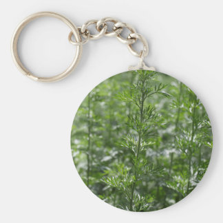 Leaves of absinthe keychain