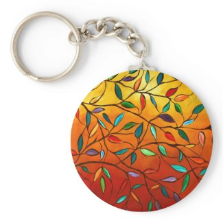 Leaves of Autumn Keychain keychain