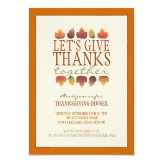 Thanksgiving Potluck Invitations & Announcements | Zazzle