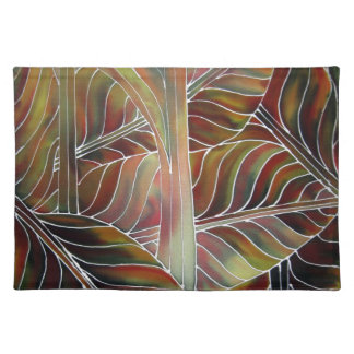Leaves of Green (and red, yellow and orange....) Cloth Placemat