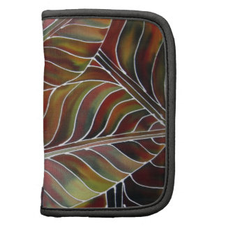 Leaves of Green (and red, yellow and orange....) Folio Planner