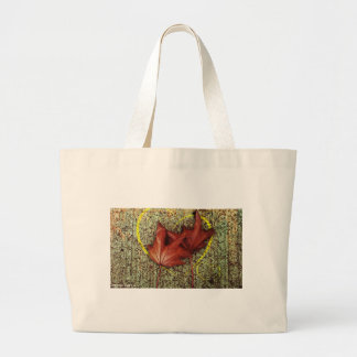 Leaves of love canvas bag