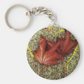 Leaves of love keychain
