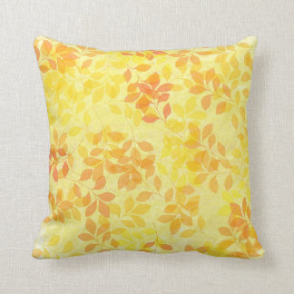 Leaves of Summer throw pillow. Throw Pillow