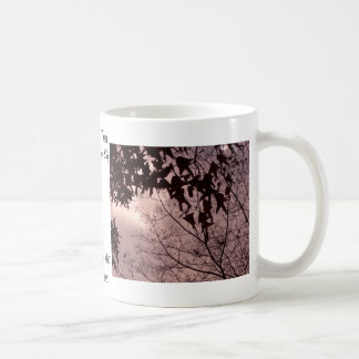 Leaves of the Trees in an Amazing Sky CricketDiane Classic White Coffee Mug