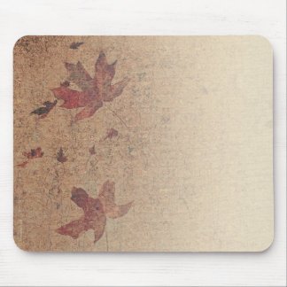 Leaves on Silk Mouse Pad