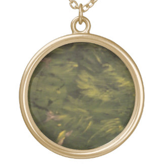 Leaves On The Tree Gold Plated Necklace