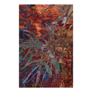 LEAVES ON TORTOISESHELL STATIONERY