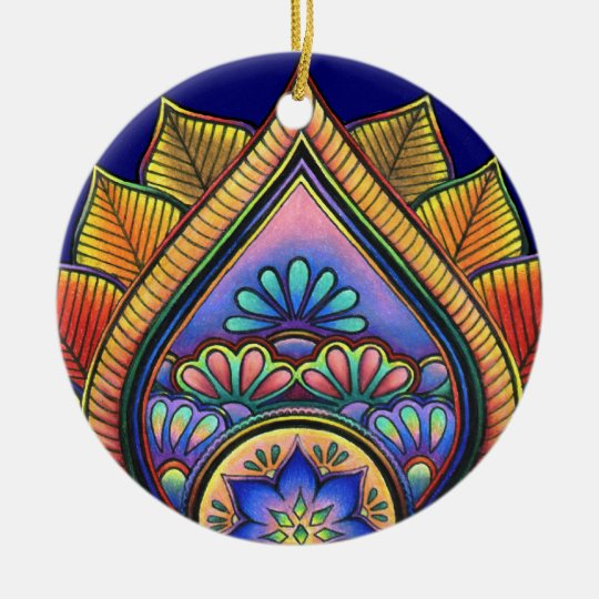 Leaves Ornament