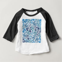 leaves pattern  A Baby T-Shirt