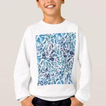 leaves pattern  A Sweatshirt