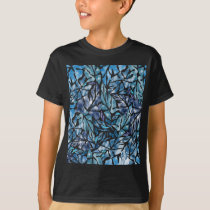 leaves pattern  A T-Shirt
