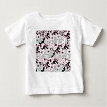leaves pattern C Baby T-Shirt