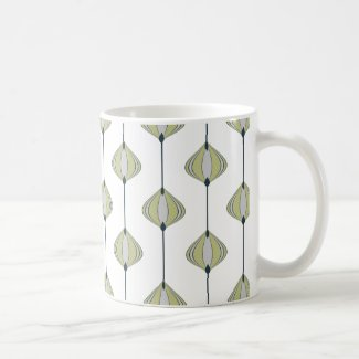Leaves Pattern Coffee Mug