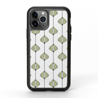 Leaves Pattern OtterBox Symmetry iPhone 11 Pro Case