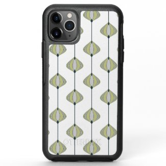 Leaves Pattern OtterBox Symmetry iPhone 11 Pro Max Case