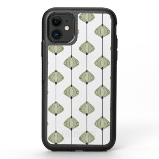Leaves Pattern OtterBox Symmetry iPhone 11 Case