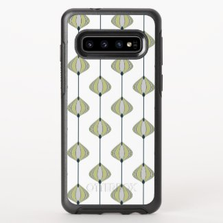 Leaves Pattern OtterBox Symmetry Samsung Galaxy S10 Case