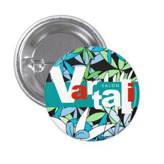 Leaves Pattern Vartali Round Button