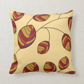 Leaves pillow throw pillows