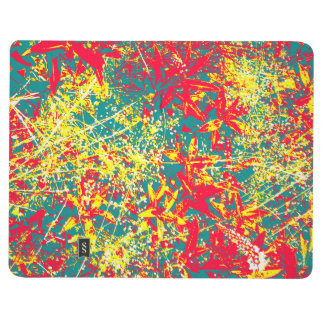 Leaves red green yellow and white journal