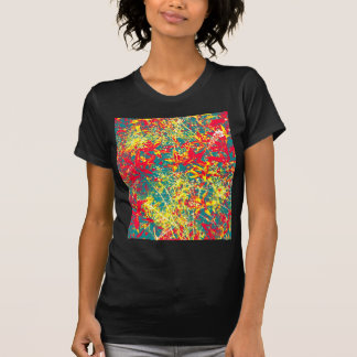 leaves red green yellow and white T-Shirt