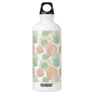 leaves SIGG traveler 0.6L water bottle