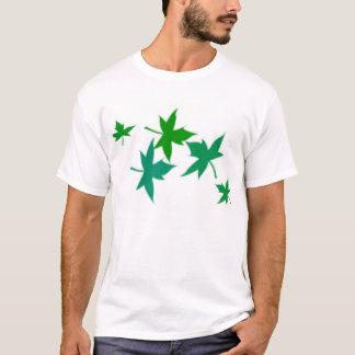 Leaves Style T-shirt Men's