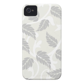 Leaves & Swirls Neutral iPhone 4 Cover
