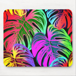 Leaves Tropical Pattern Mouse Pad