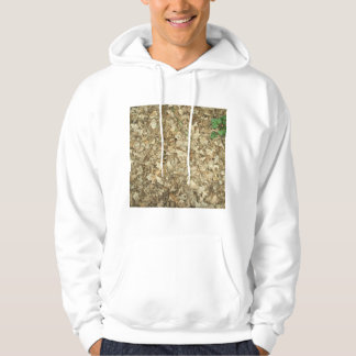 Leaves. Woodland floor. Leafy ground. Hoodie