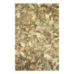 Leaves. Woodland floor. Leafy ground. Custom Stationery