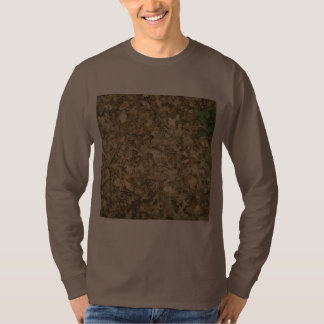 Leaves. Woodland floor. Leafy ground. T Shirt