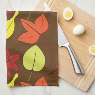 Leaves You Falling Kitchen Towel