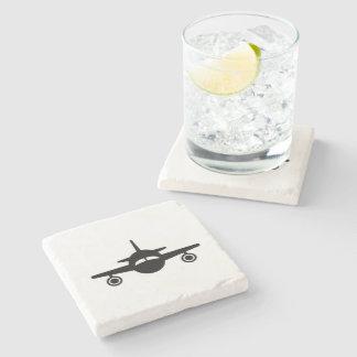 Leavin' on a Jet Plane - Stone Coaster