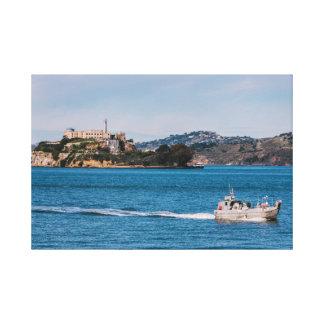 Leaving Alcatraz Gallery Wrap Canvas