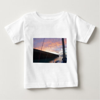 Leaving Dover At Dawn Baby T-Shirt