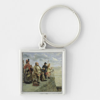 Leaving for Jersey Keychain