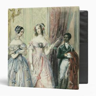 Leaving for the Ball, 1830-48 Vinyl Binder