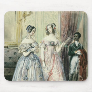 Leaving for the Ball, 1830-48 Mouse Pad