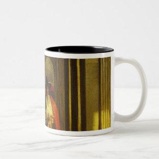 Leaving for the Walk Two-Tone Coffee Mug