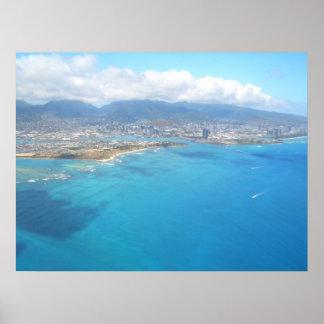 Leaving Oahu Print