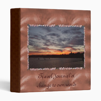 Leaving Port Townsend 3 Ring Binder