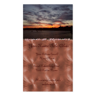 Leaving Port Townsend Double-Sided Standard Business Cards (Pack Of 100)